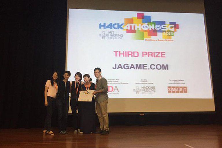 Jaga-Me awarded third prize at MIT Hacking Medicine 2015