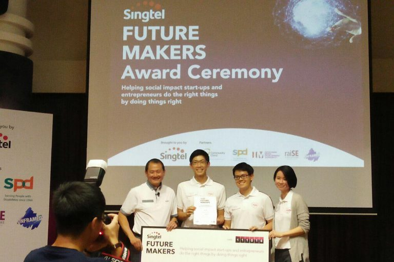 Jaga-Me selected by Singtel as a top 7 social impact startup in inaugural Future Makers Programme