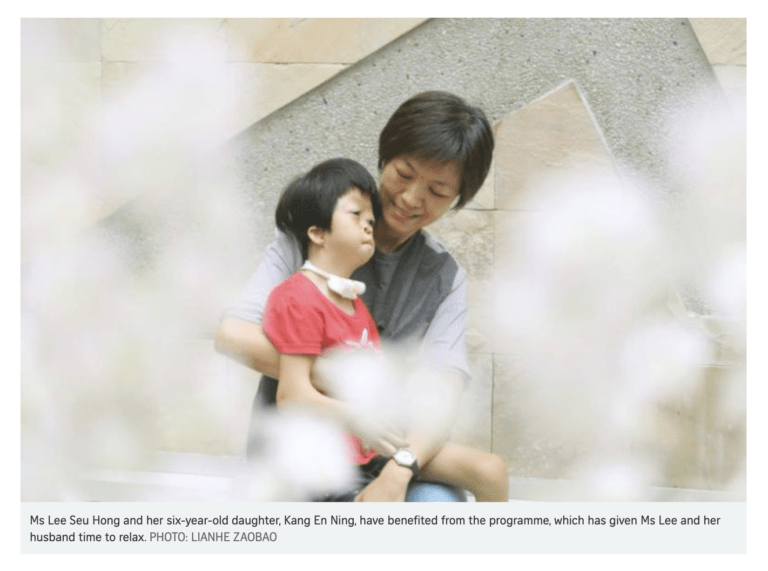 Jaga-Me's role in supporting caregivers of chronically ill children featured in The Straits Times
